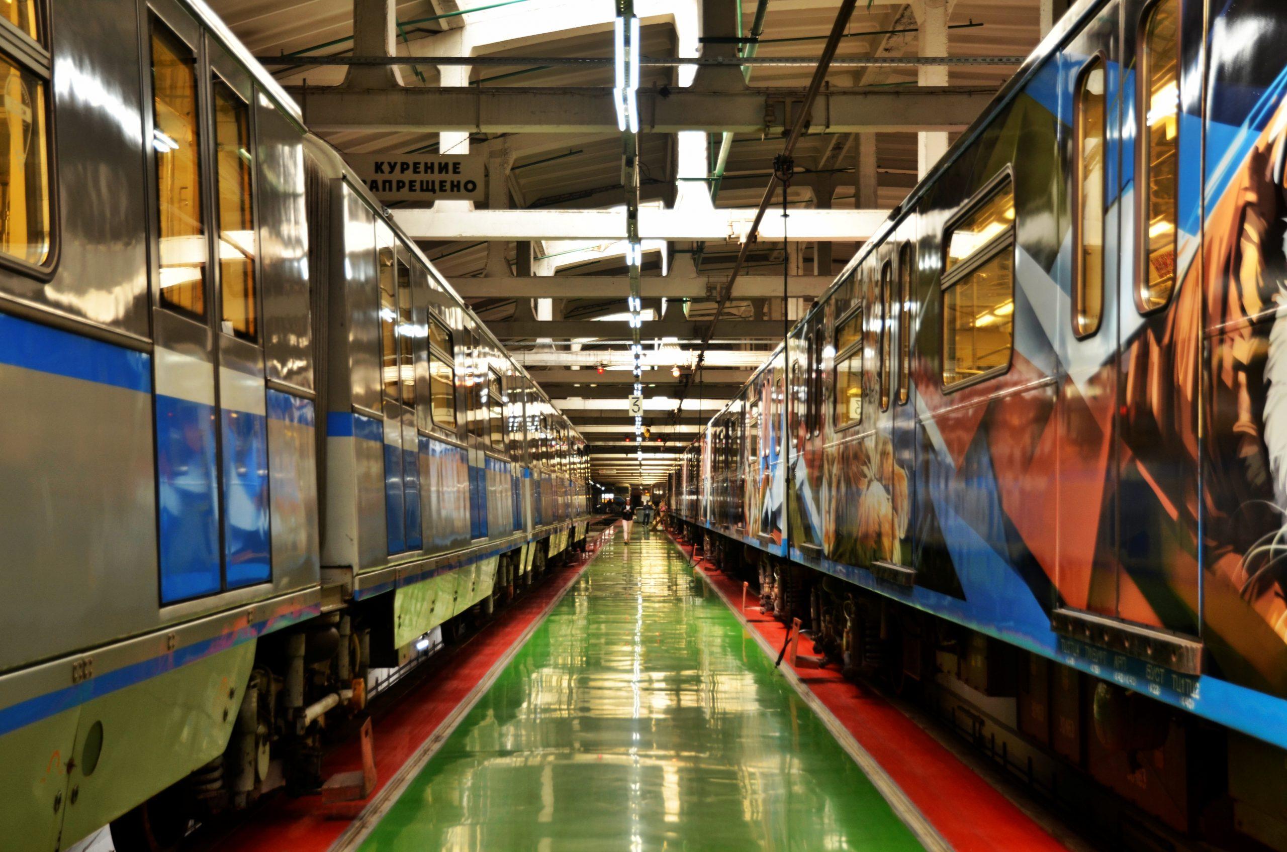 Развитие сети депо столичного метрополитена создаст новые рабочие места. Фото: Анна Быкова