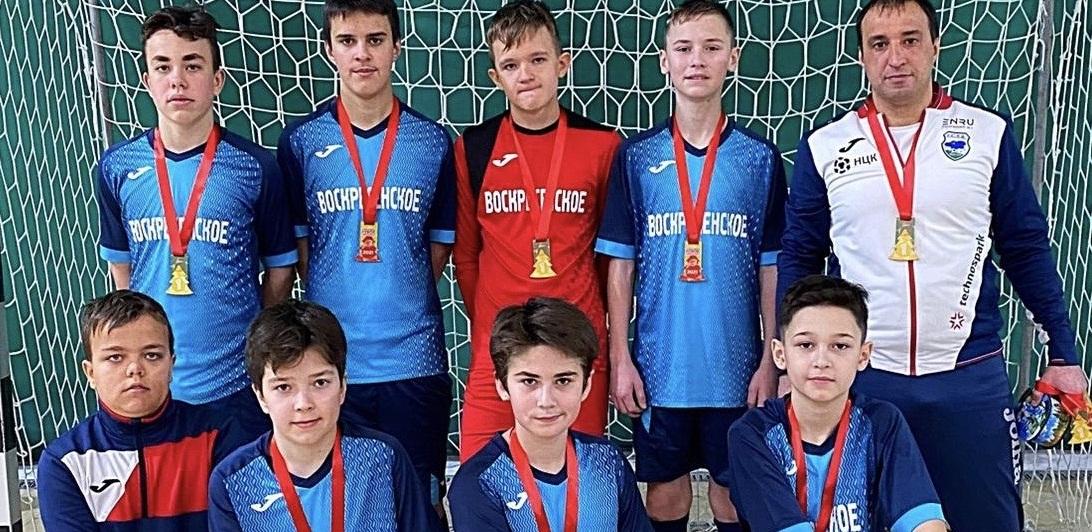 Команда Дома культуры и спорта «Воскресенское» выиграла турнир по футболу