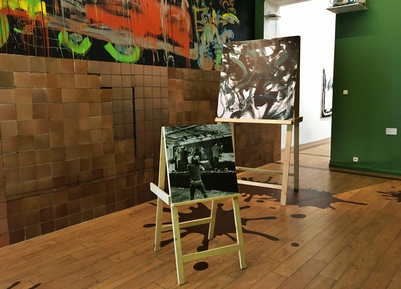 Новую выставку ко Дню защитника отечества открыли в Дворце Культуры «Московский». Фото: Анна Быкова