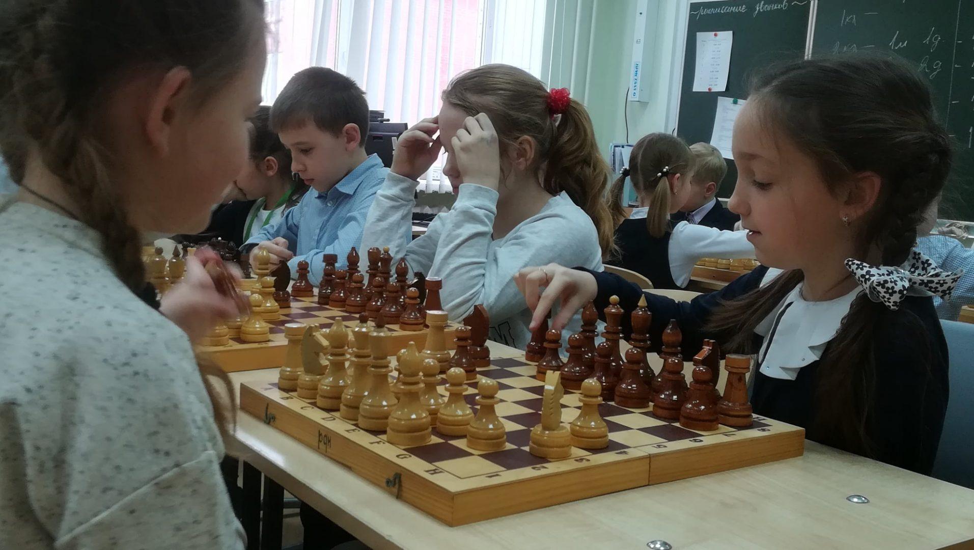 Воспитанники школы №2083 поселения Рязановское приняли участие в турнире по шахматам. Фото предоставили сотрудники администрации