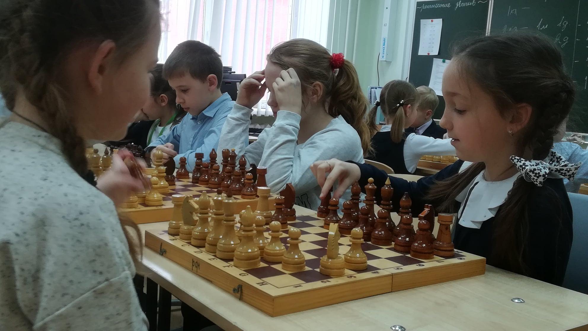 Воспитанники школы №2083 поселения Рязановское приняли участие в турнире по шахматам