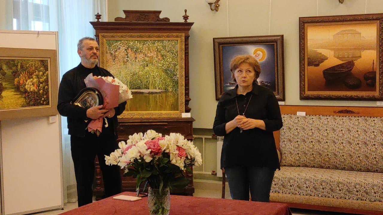 Открытие выставки художников прошло в Музее истории усадьбы Александрово-Щапово