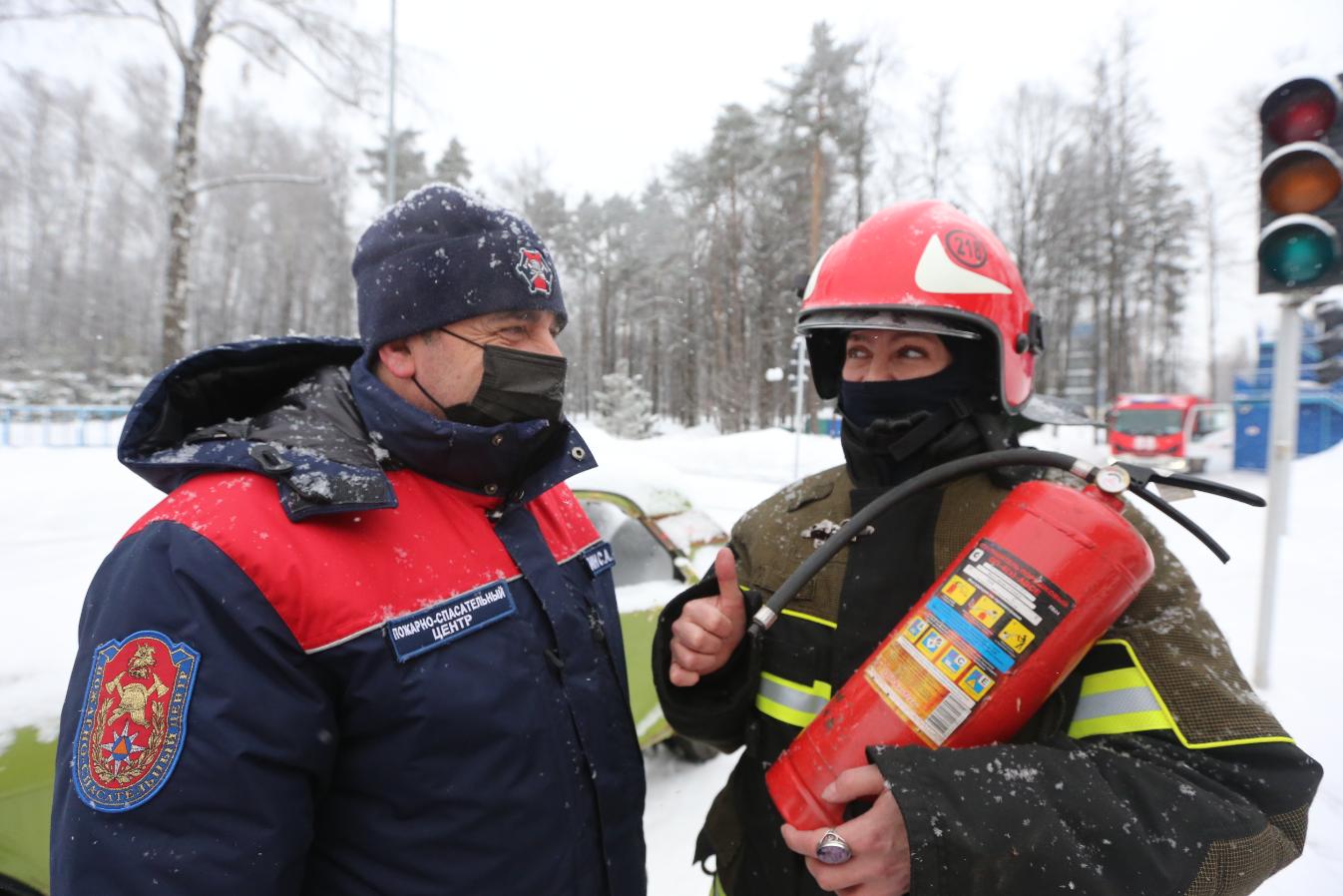 Мероприятия по профилактике предупреждения пожаров провели в городском округе Щербинка