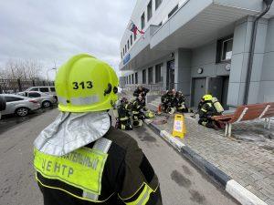 Пожарно-тактическое занятие провели в Новой Москве. Фото: пресс-служба Управления по ТиНАО Департамента ГОЧСиПБ
