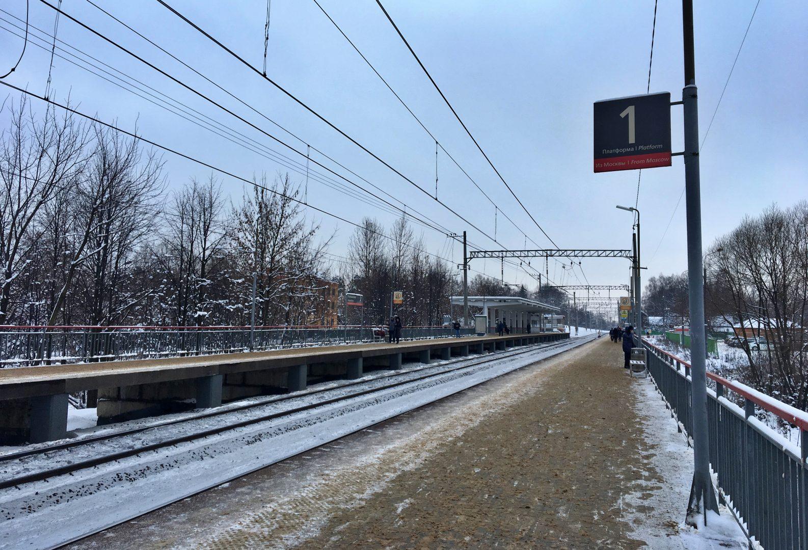 Станцию Внуково Московского центрального диаметра откроют в апреле. Фото: Анна Быкова