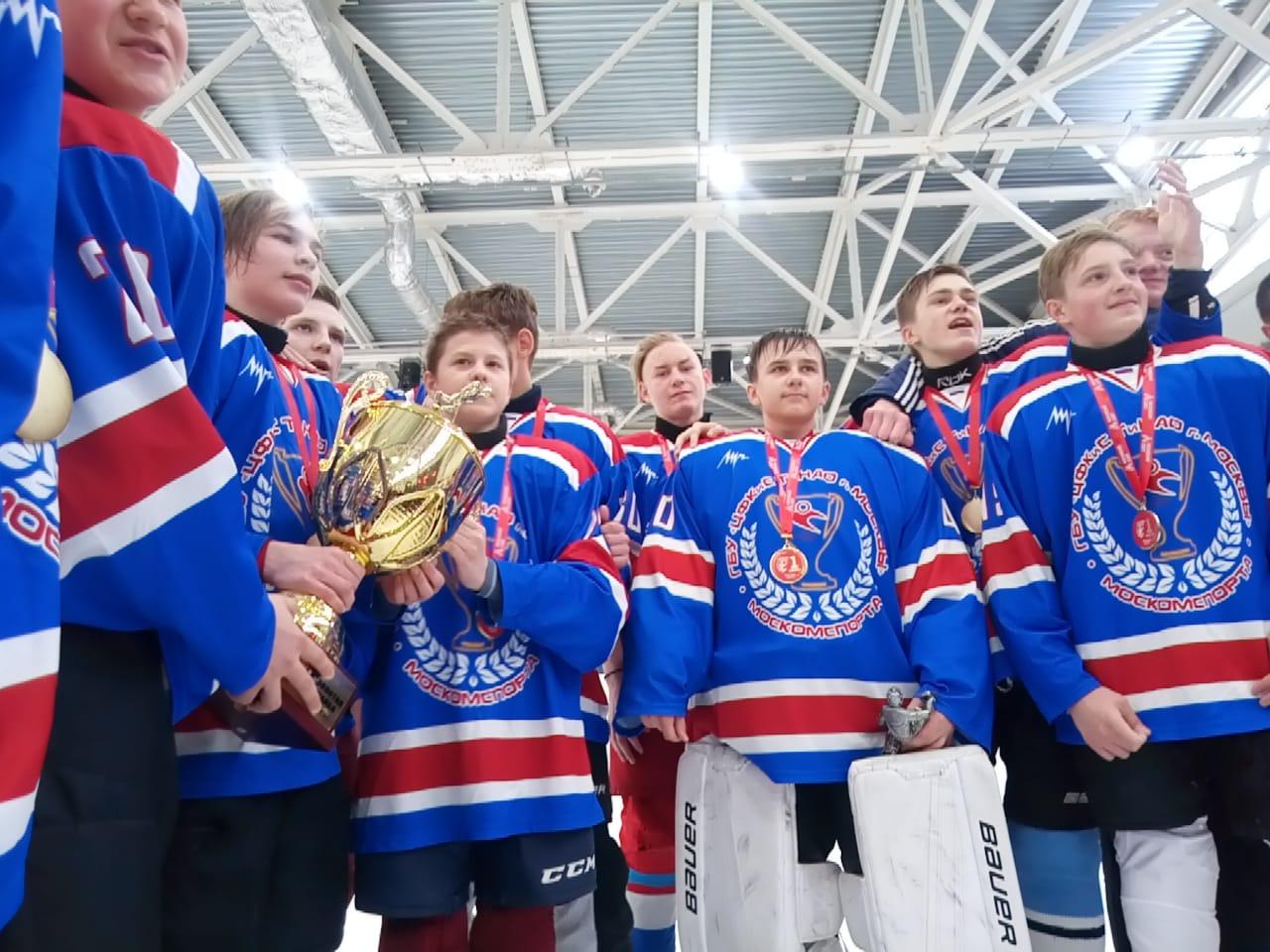 Спортсмены поселения Кленовское примут участие в соревнованиях «Золотая шайба»