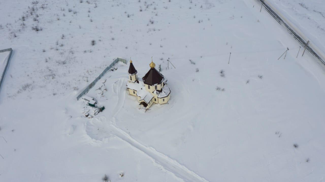 Процесс строительства храма Преображения Господня в поселении Роговское вышел на новый этап
