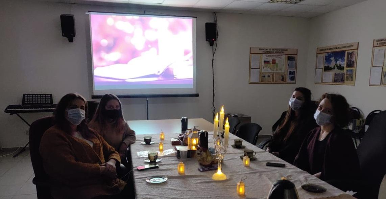 Молодые парламентарии из Воскресенского провели литературный вечер