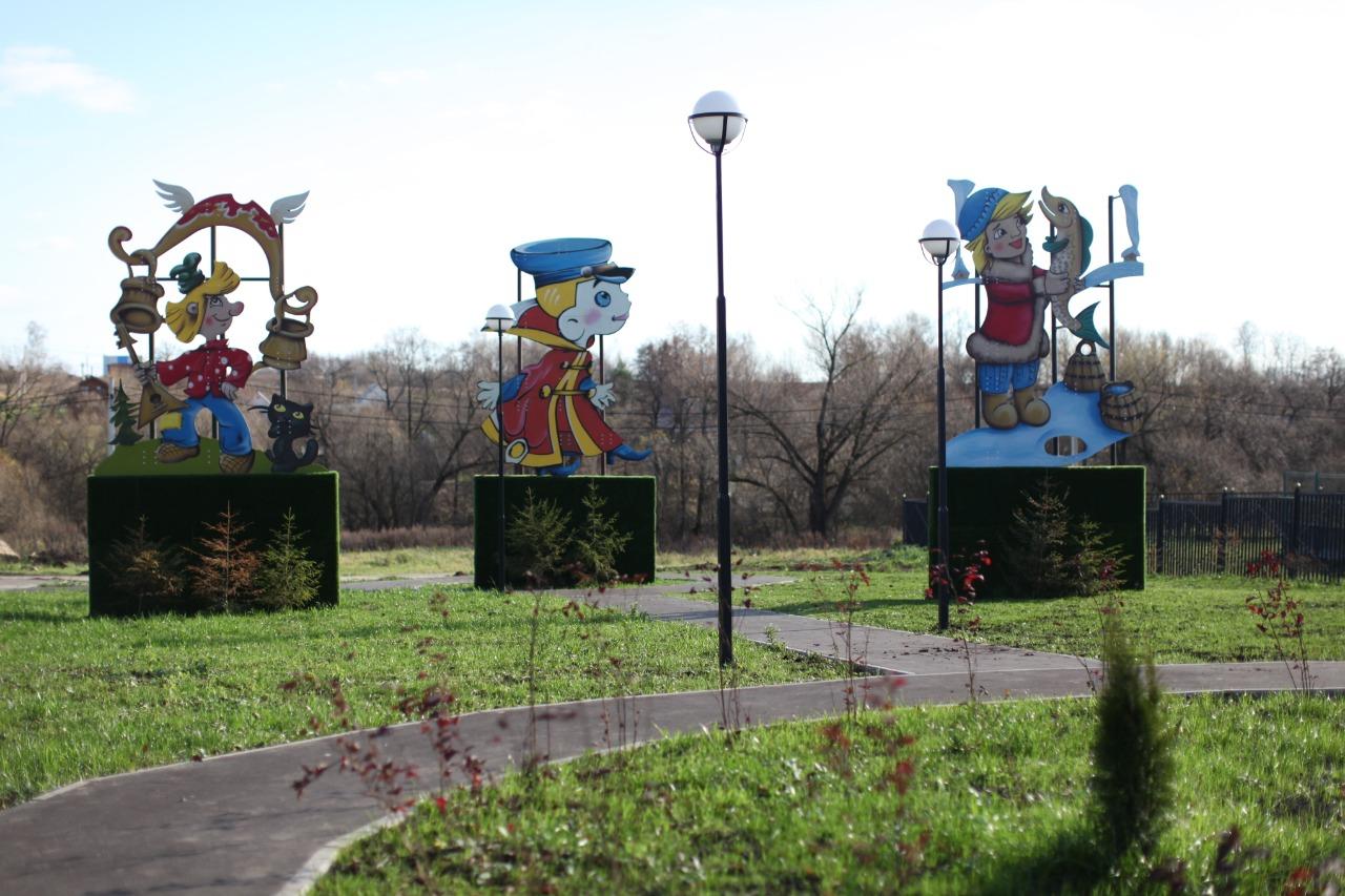 Специалисты продолжили благоустройство знакового объекта «Детский парк