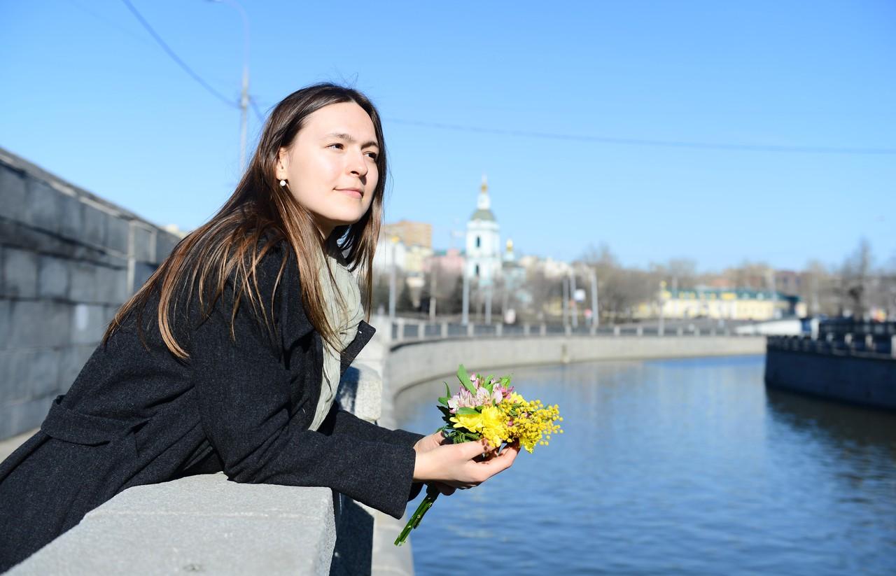 Погода в Москве в среду будет теплой и сухой