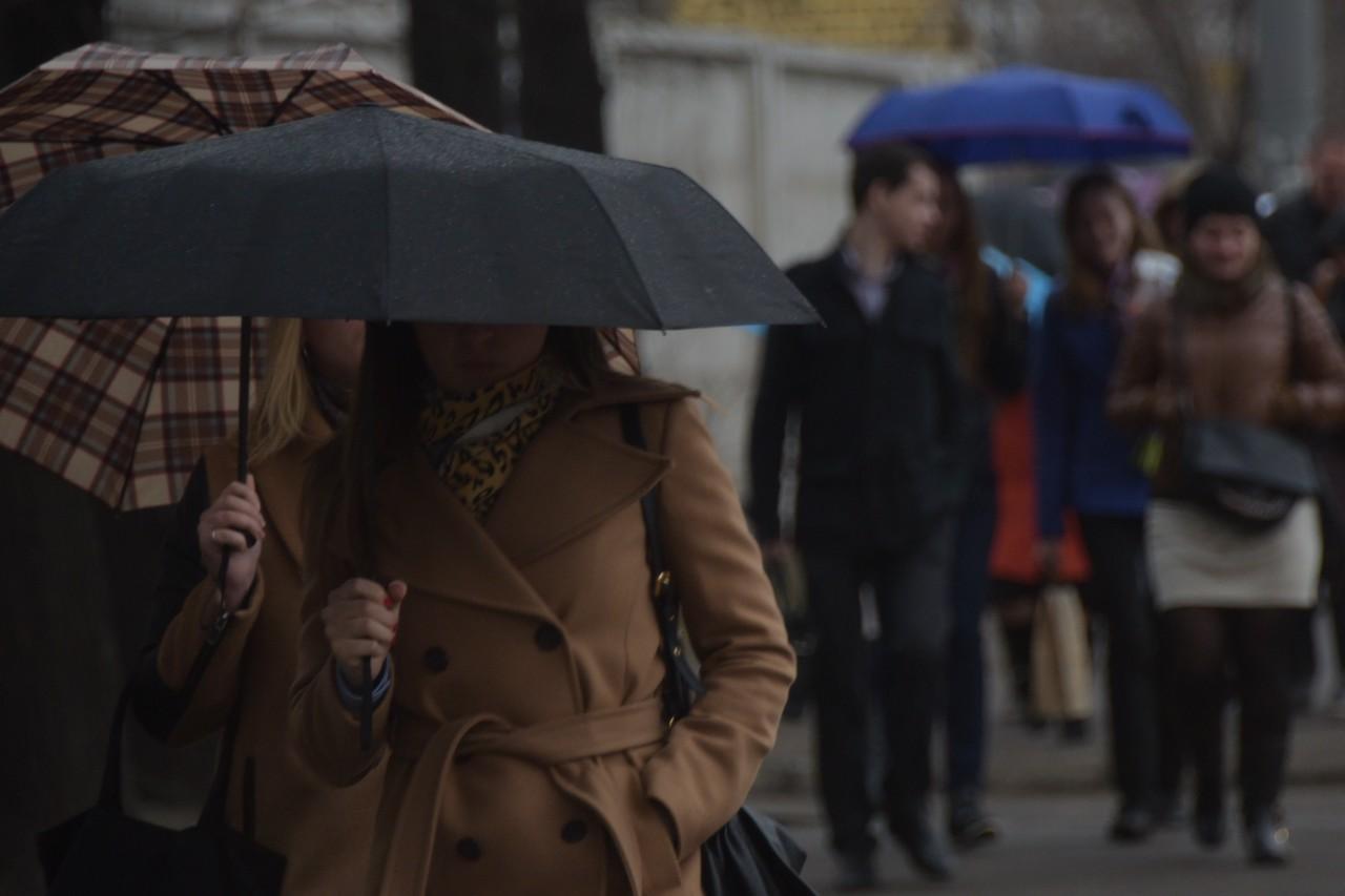 Дождливая погода ожидается в Москве в среду