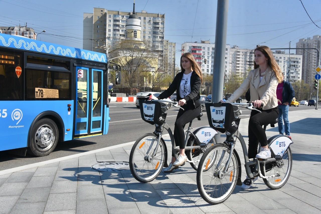 Сезон велопроката стартует в Москве на следующей неделе