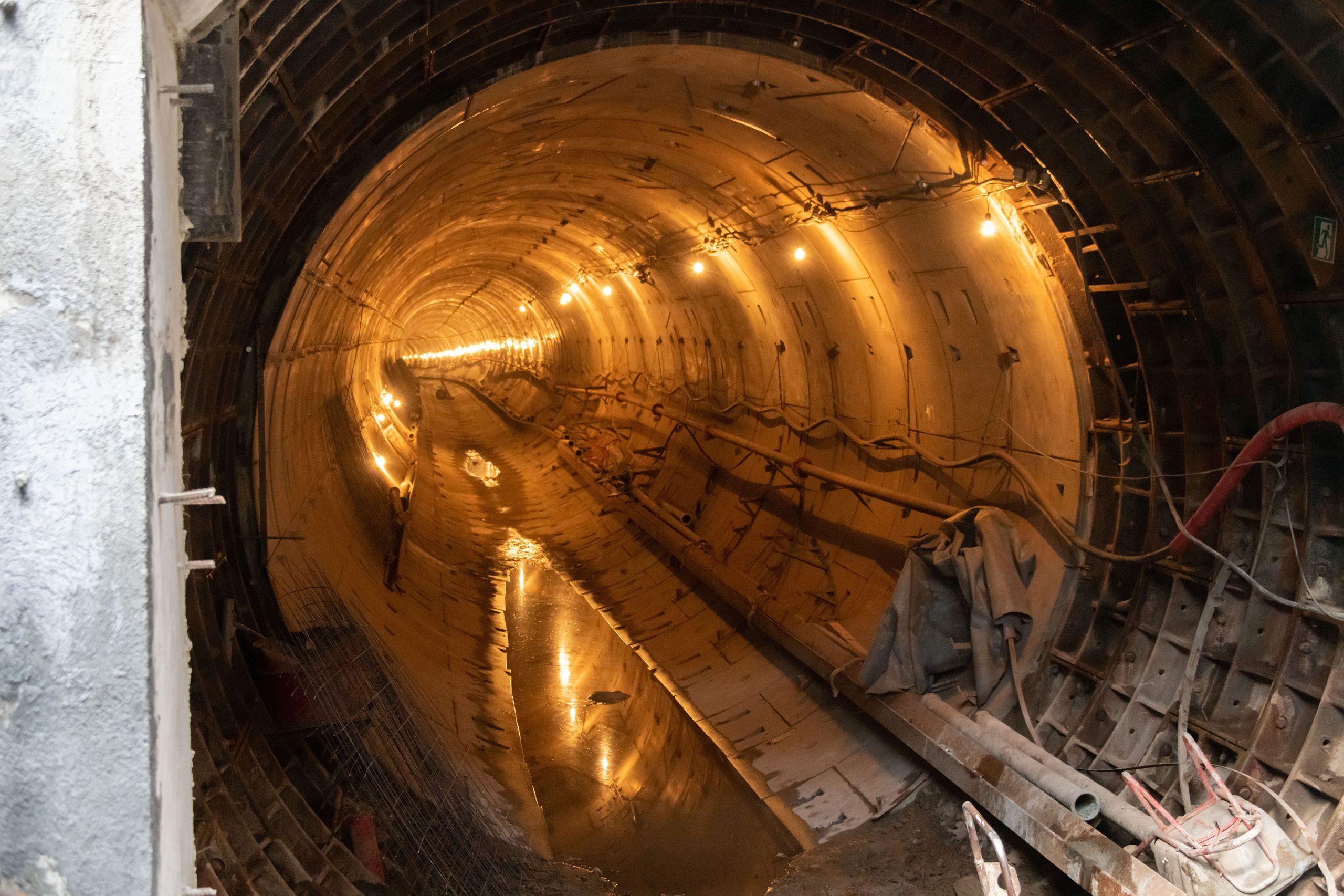 На Рублево-Архангельской линии метро приступили к монтажу ТПМК для первого тоннеля
