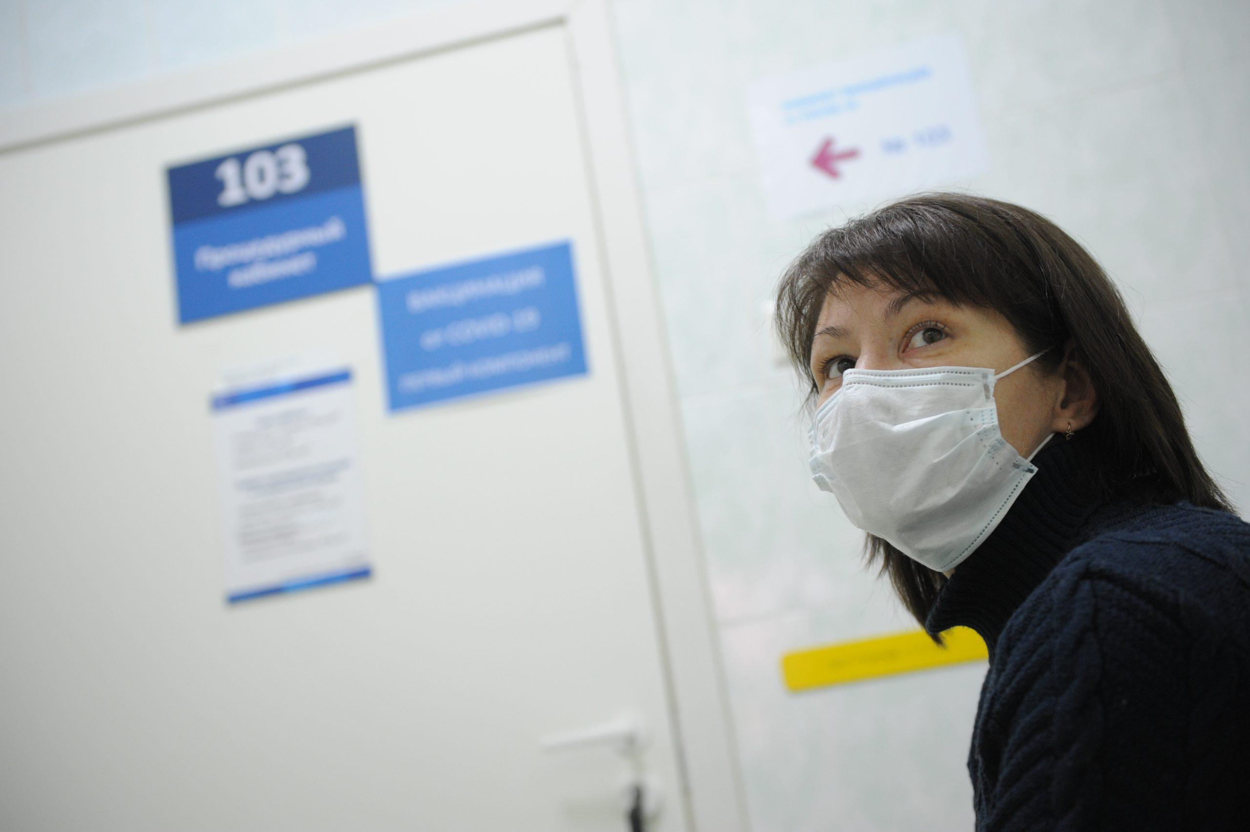 Московские врачи поставили более двух тысяч диагнозов COVID-19 за сутки