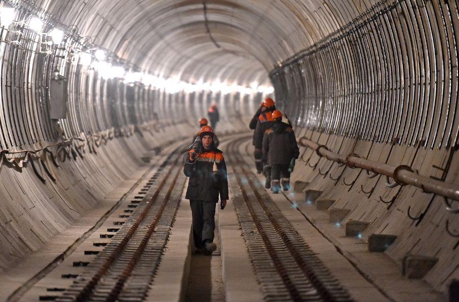 В Москве пройдет седьмой тоннель Троицкой линии метро