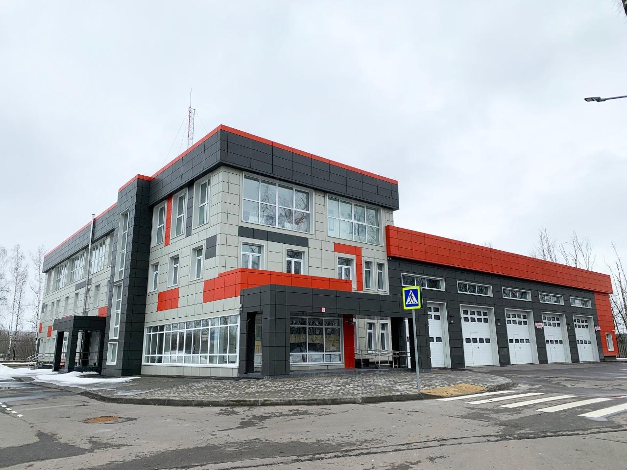 Дмитрий Саблин: Пожарное депо в Марушкинском получило разрешение на ввод в эксплуатацию. Фото: Александр Кейзеров