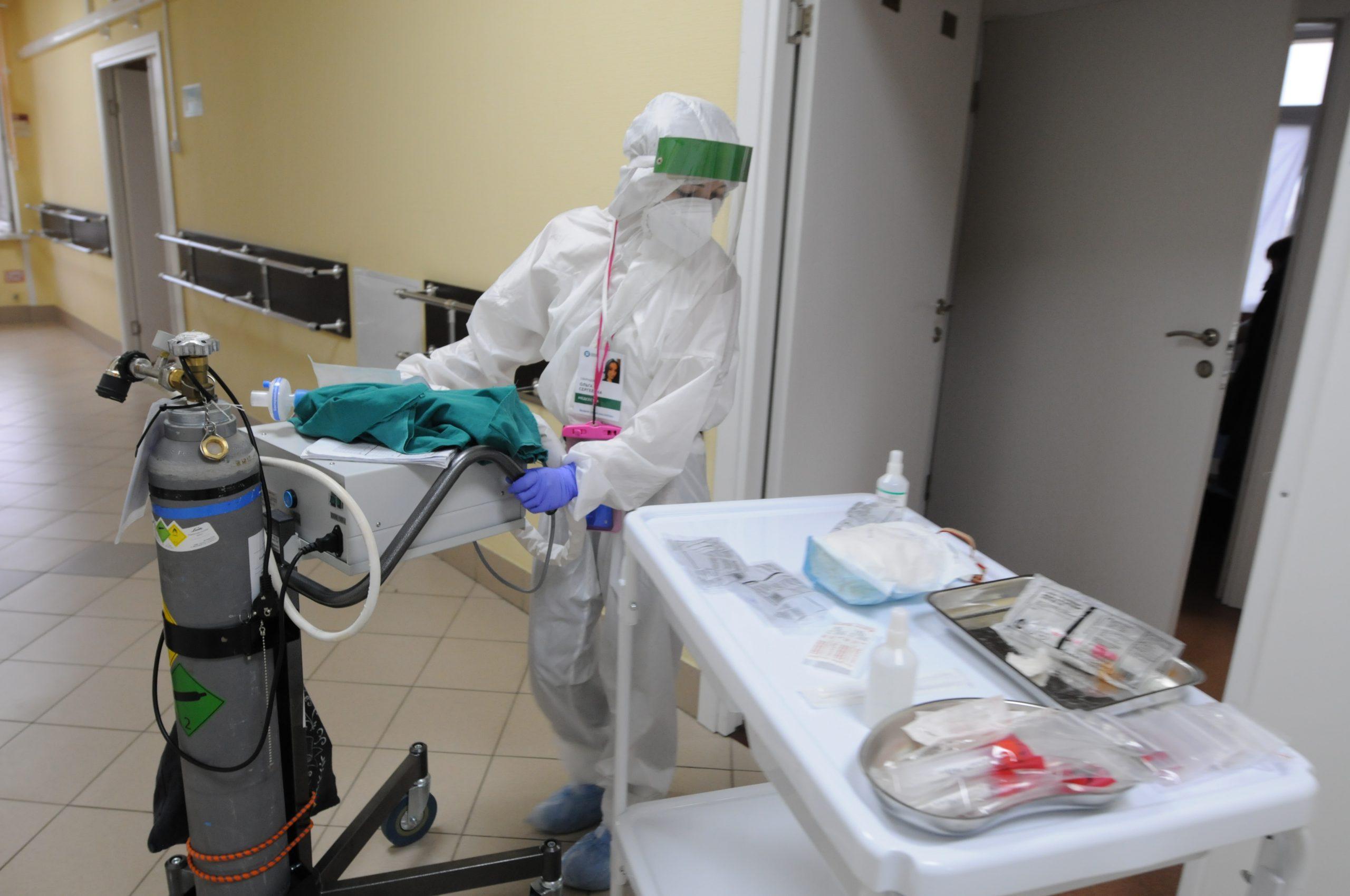 В столице за последние 24 часа диагностировали 2252 пациента с коронавирусом