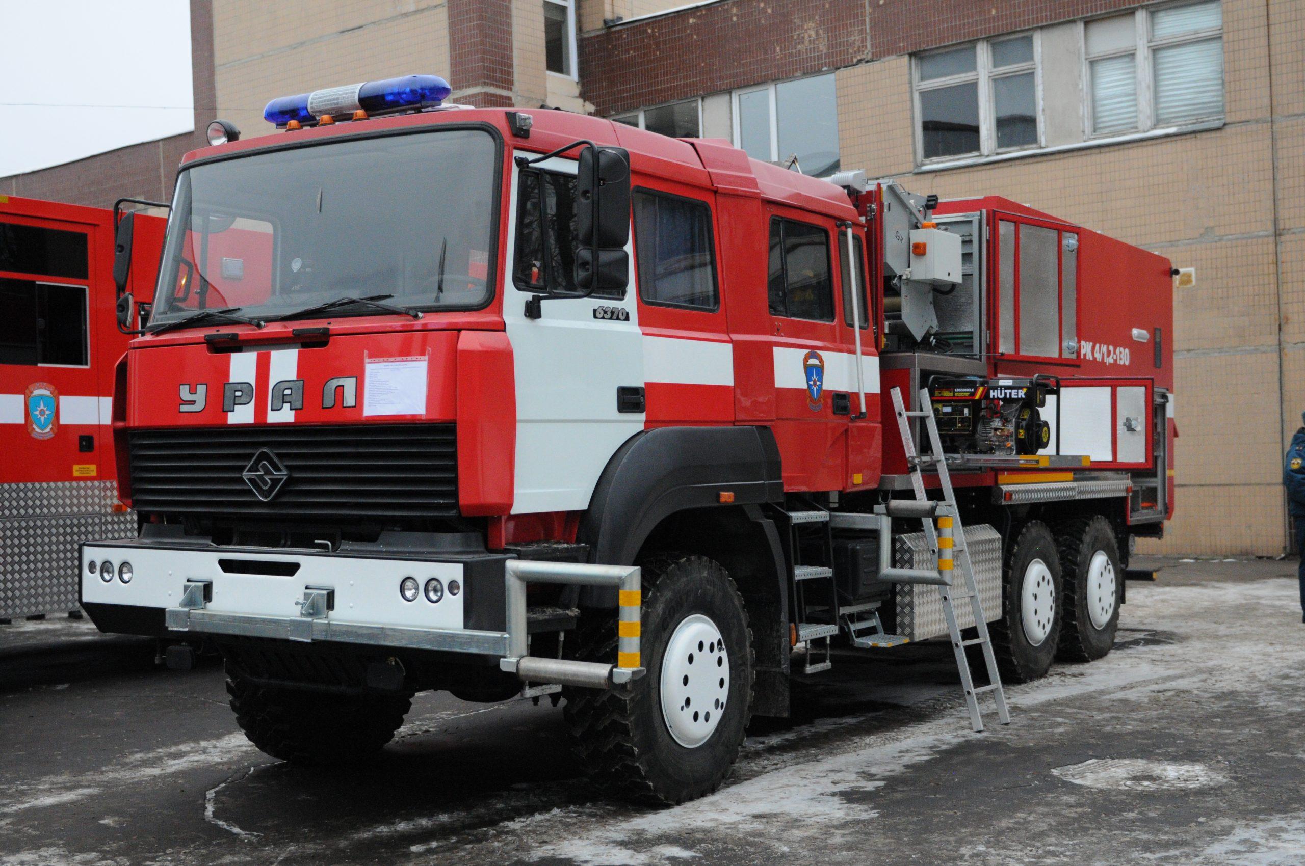 Пожарные депо возведут в Новой Москве. Фото: Игорь Ивандиков, «Вечерняя Москва»