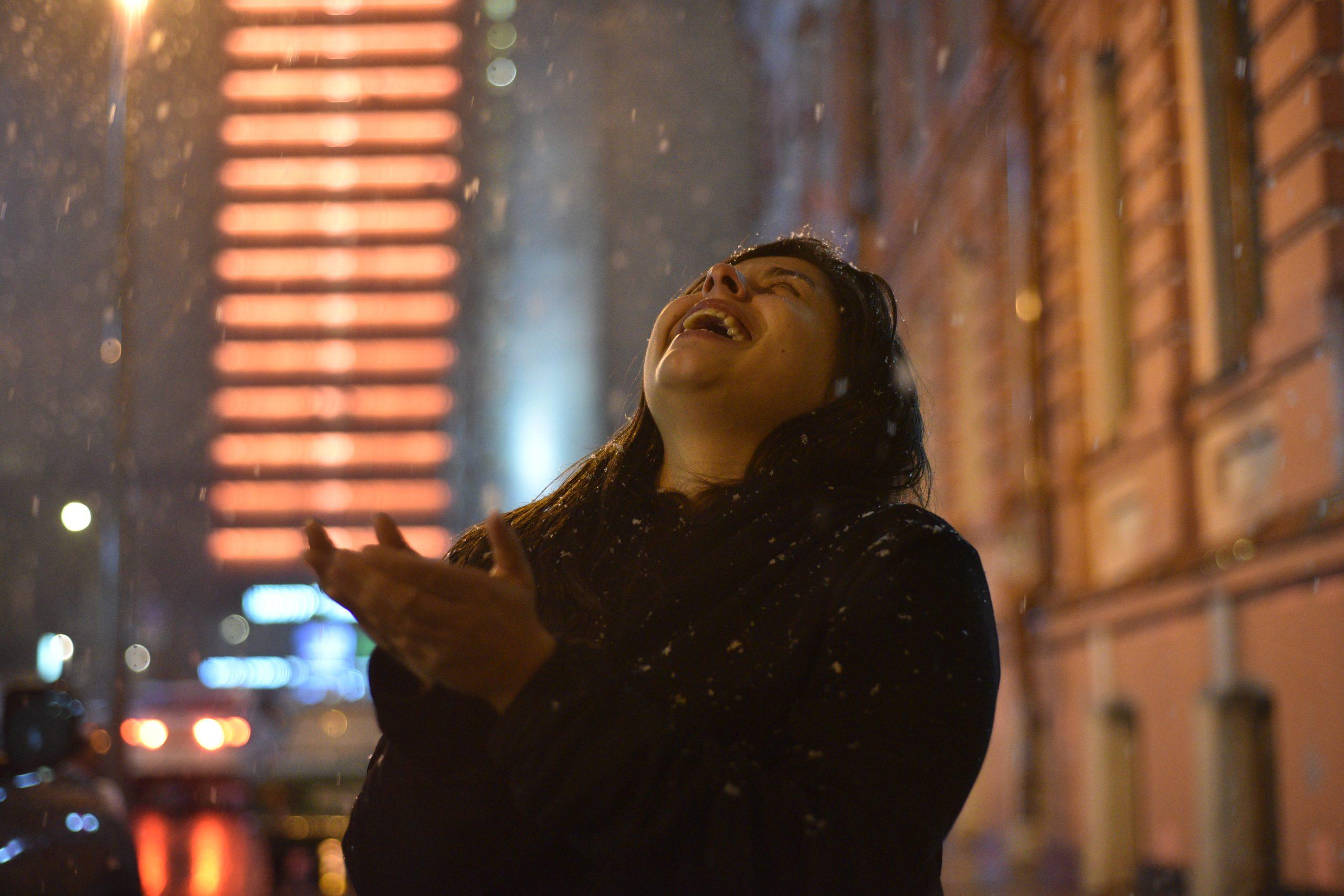 Жители Москвы узнали о мокром снеге в пятницу