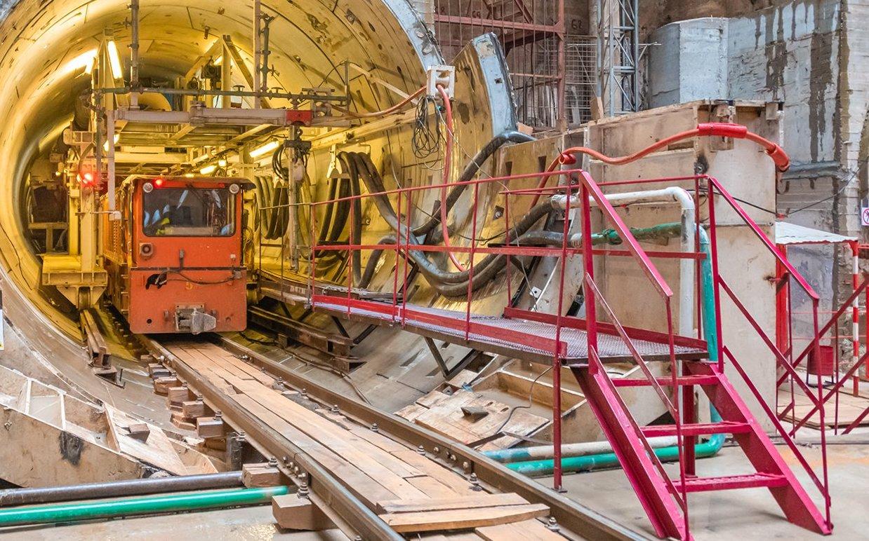 Заммэра высоко оценил темпы строительства Троицкой линии метро. Фото: сайт мэра Москвы