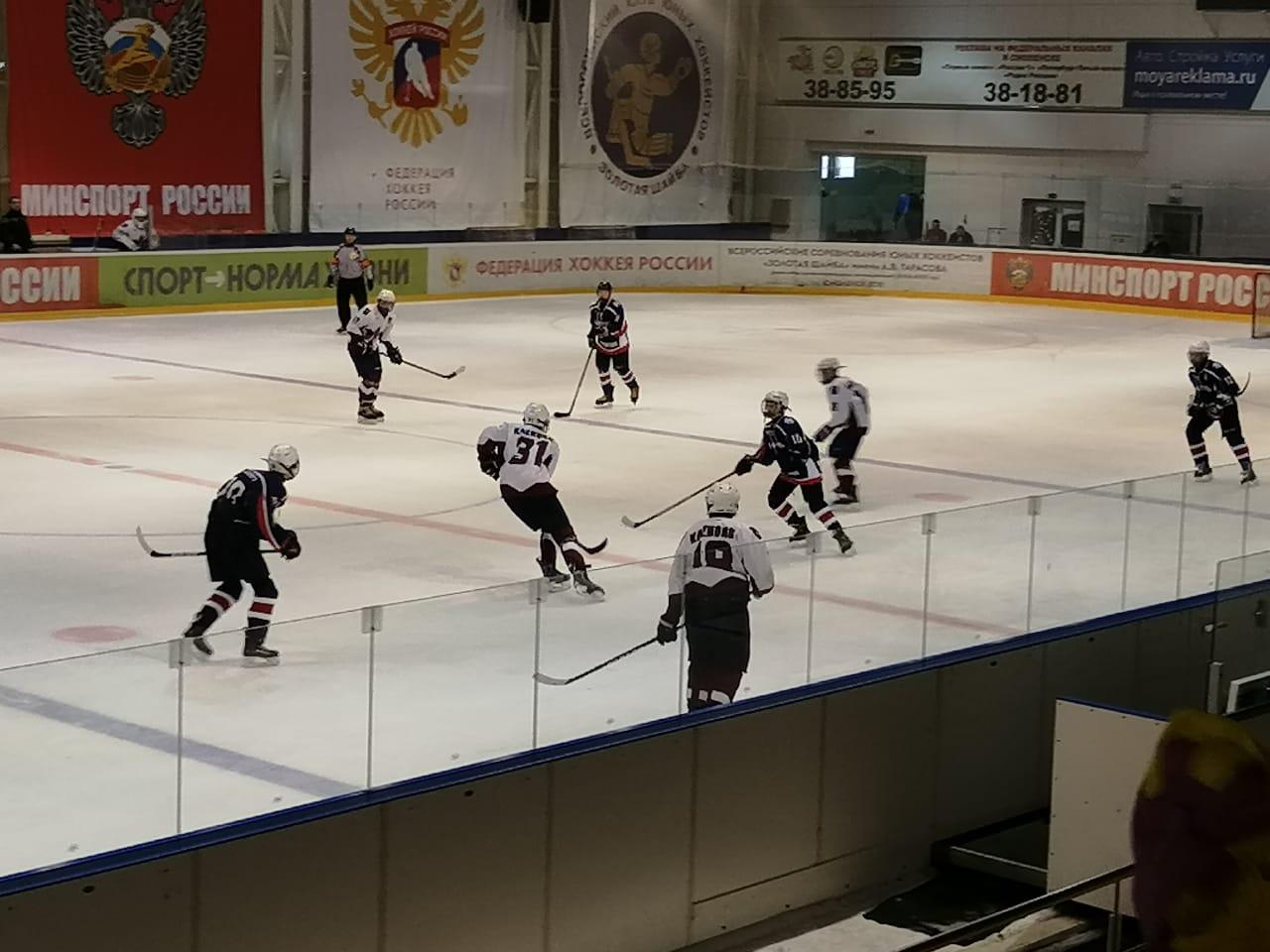 Хоккеисты поселения Кленовское одержали победу в матче турнира «Золотая шайба»