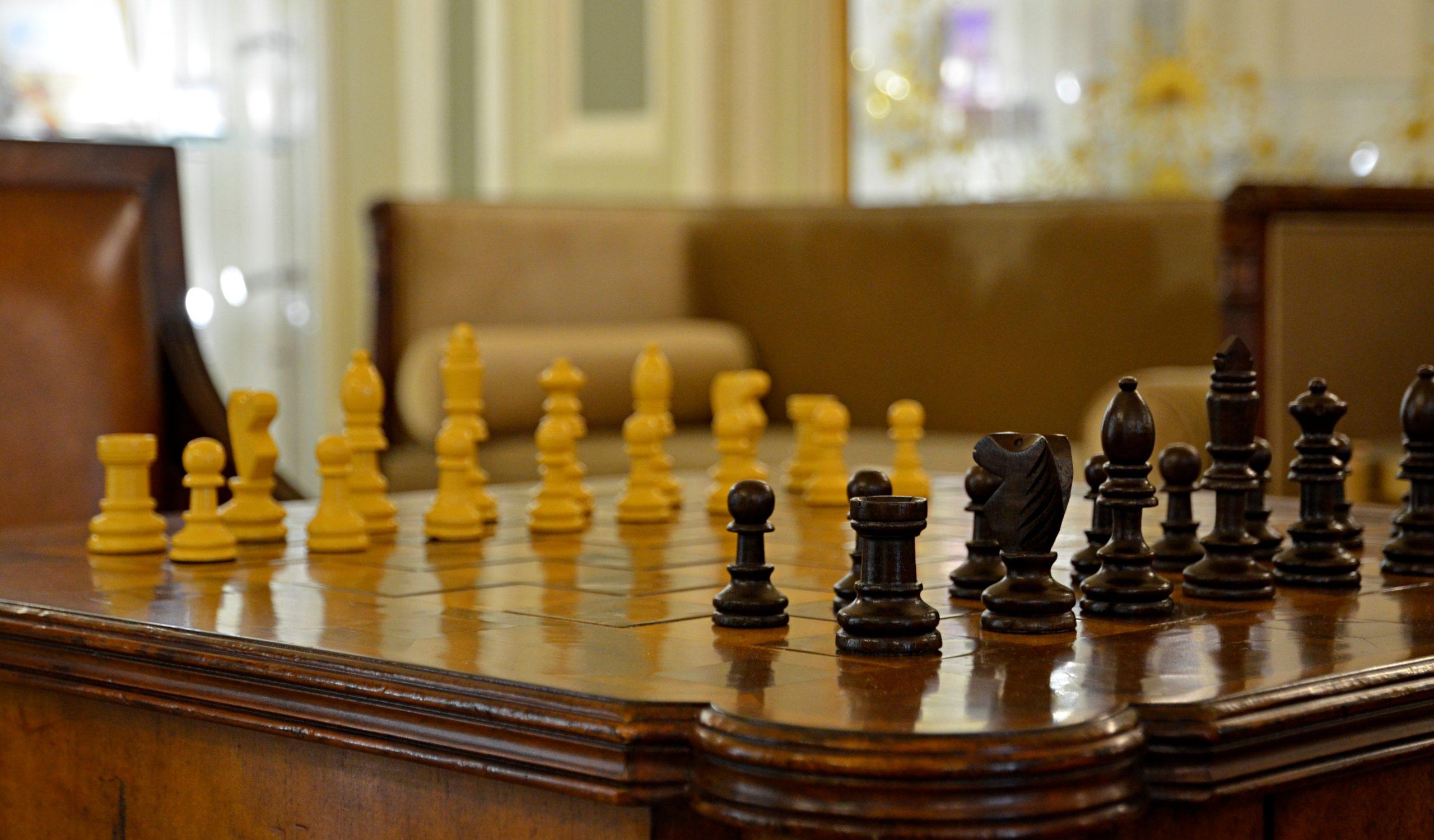 Шахматный турнир прошел в Марушкинском