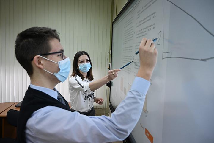 BCG: Москва смогла создать хорошую инфраструктурную базу для цифровизации образования. Фото: Алексей Орлов, «Вечерняя Москва»