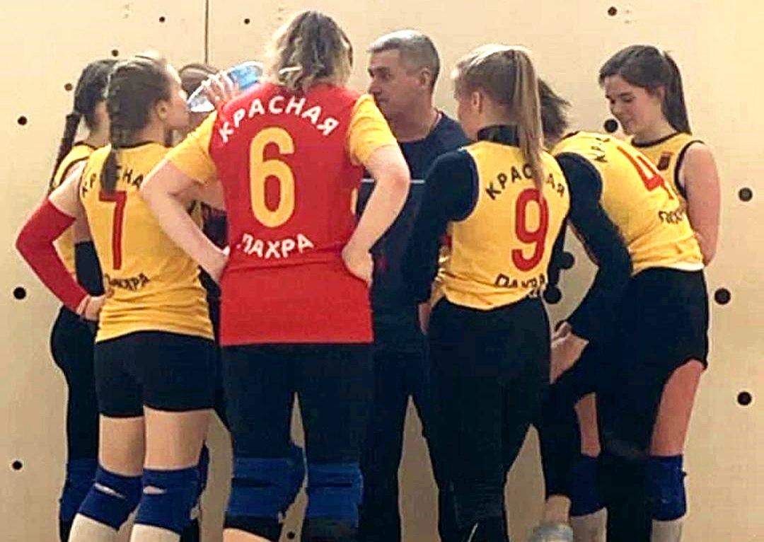 Краснопахорские волейболистки одержали победу в матче второго тура соревнований на Кубок префекта ТиНАО