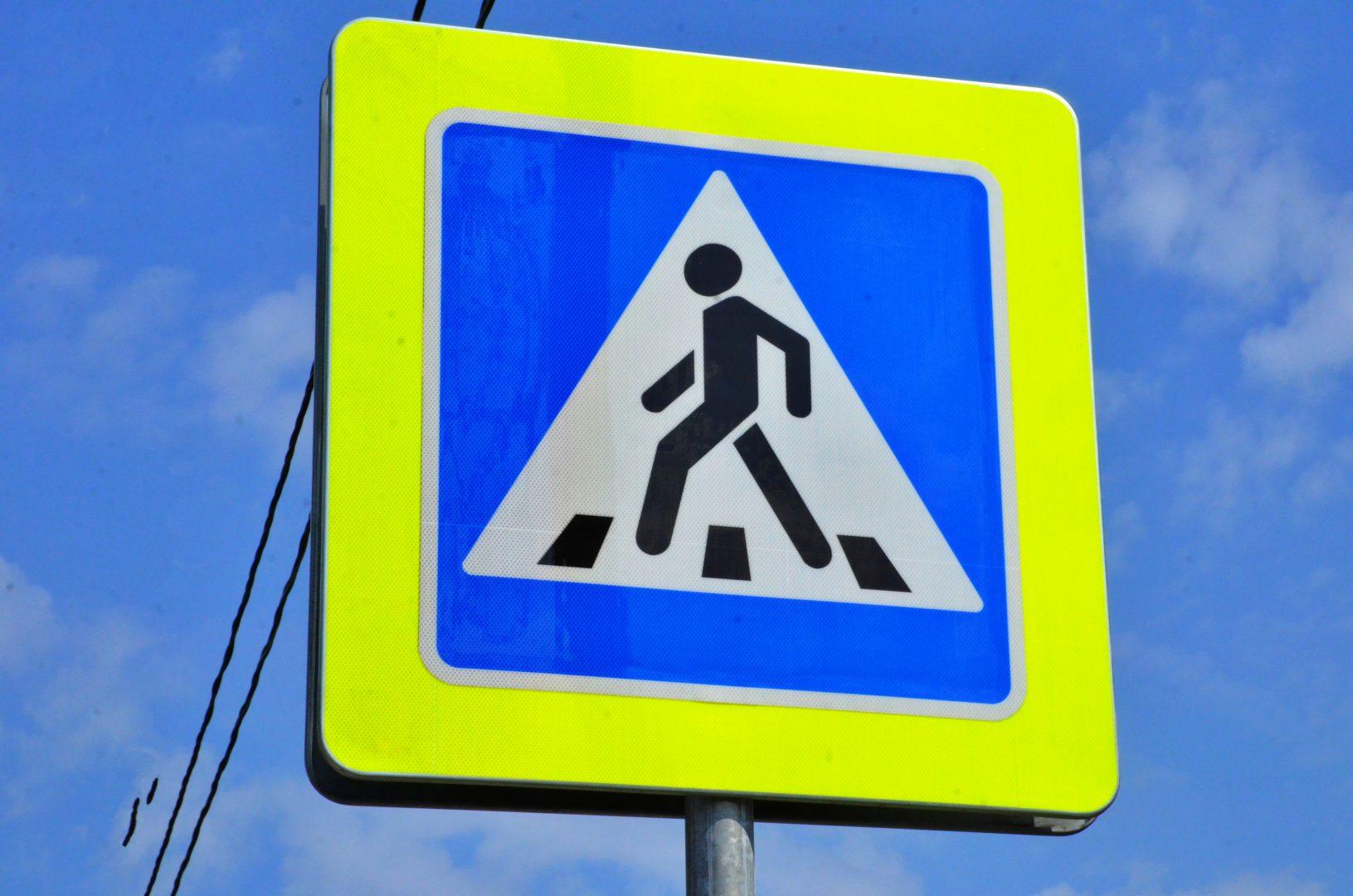 Монтаж дорожных знаков провели в Роговском. Фото: Анна Быкова