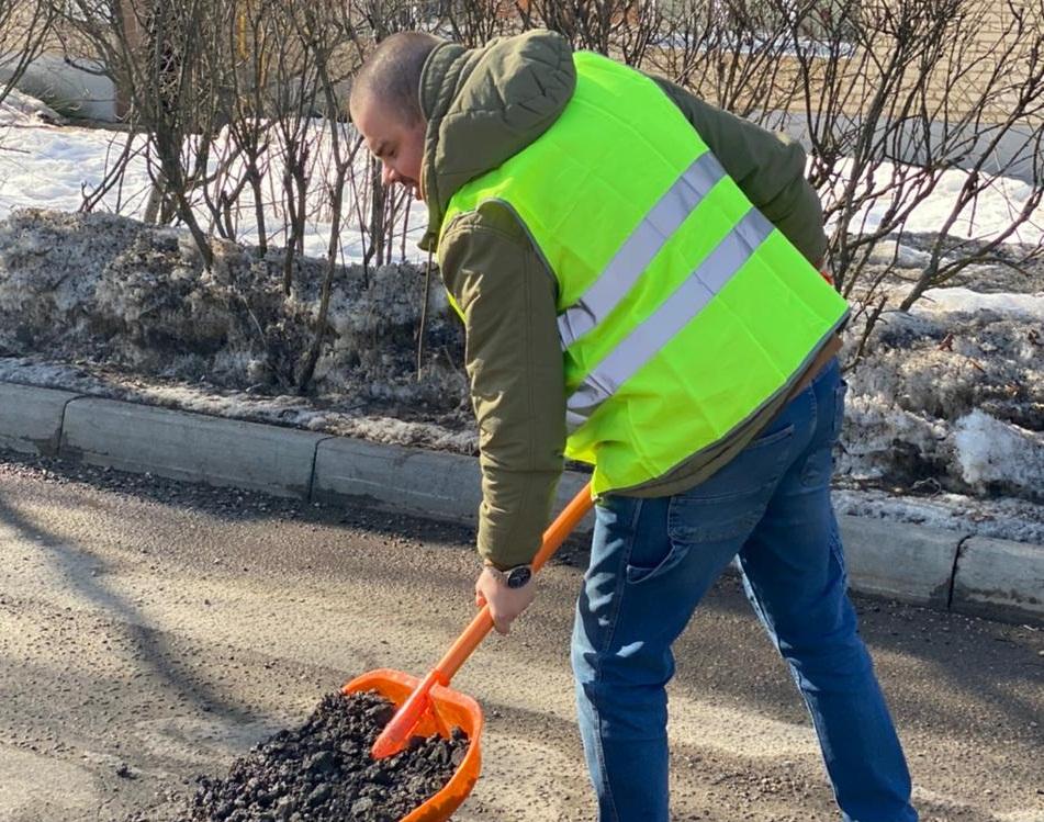 Дорожные работы проведут на территории поселения Роговское. Фото предоставили сотрудники администрации