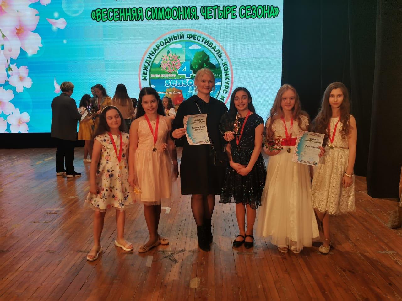 Воспитанники Дома культуры «Коммунарка» поселения Сосенское стали победителями в конкурсе