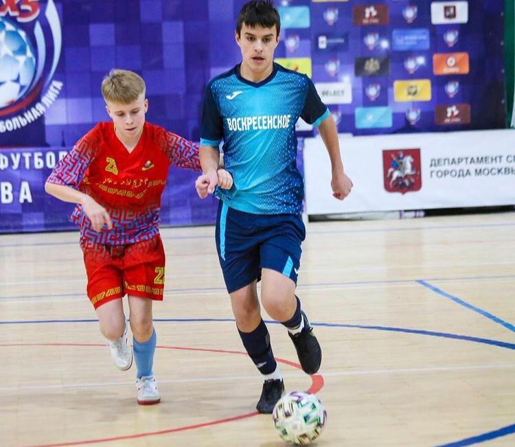 Футбольная команда «Воскресенское» примет участие в финальном матче турнира