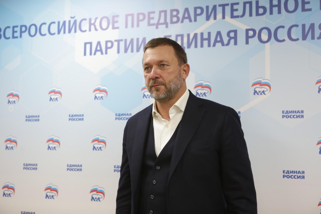 На фото депутат Государственной Думы РФ Дмитрий Саблин