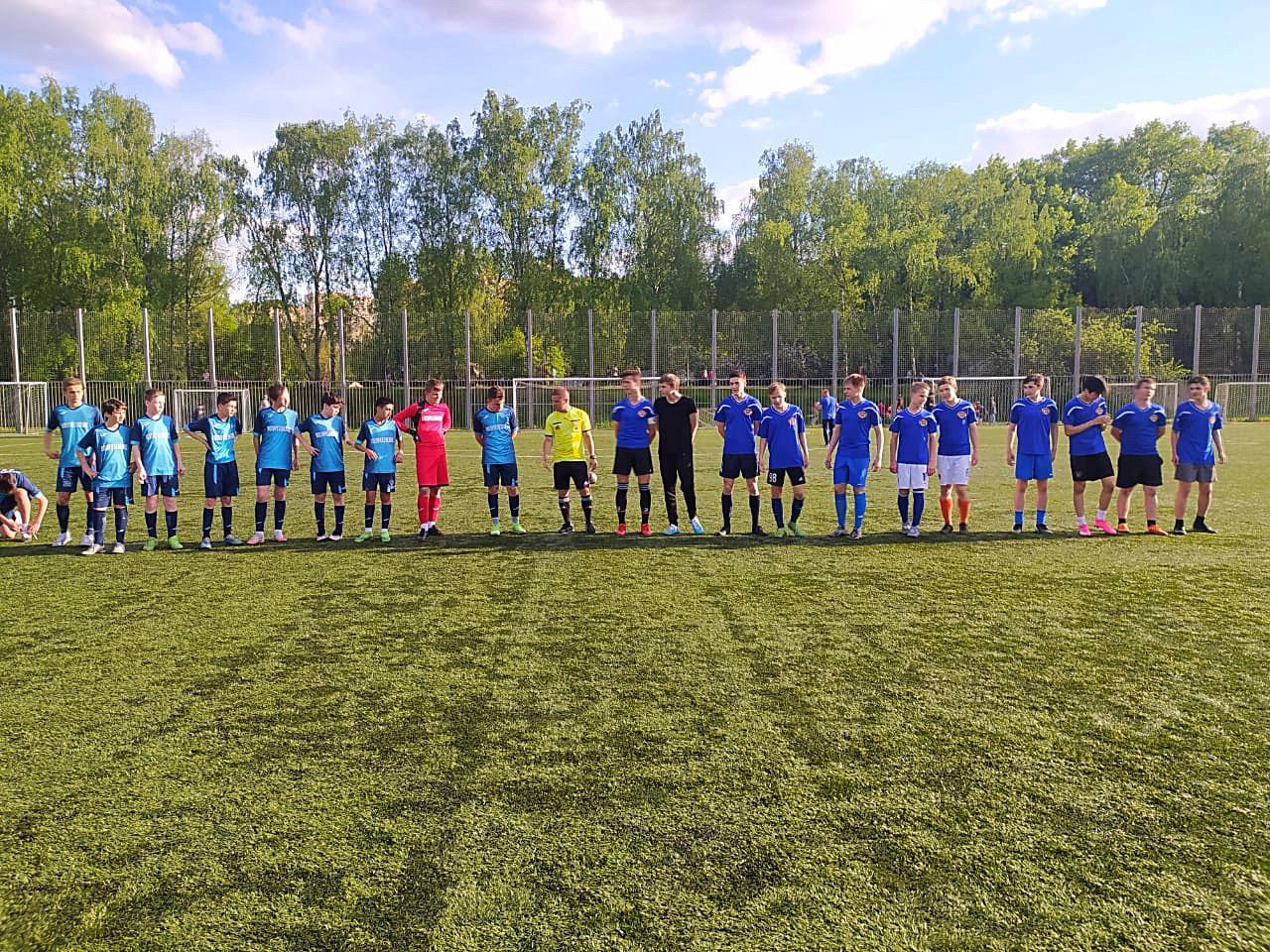Команда Воскресенского вышла в финал турнира «Кожаный мяч»