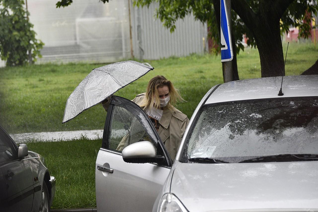 Автомобилистам рекомендовали не парковаться возле деревьев из-за грозы