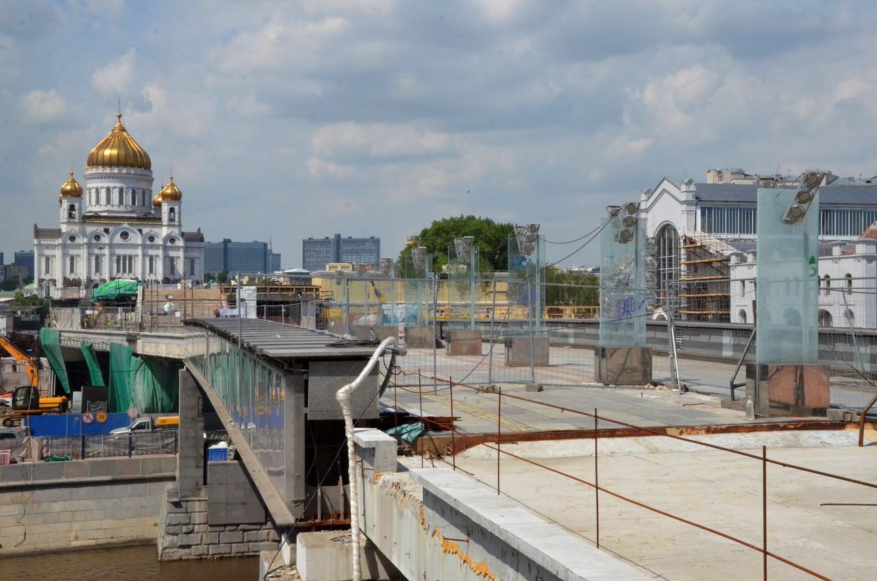 Более 30 мостов отремонтируют в Москве до конца года