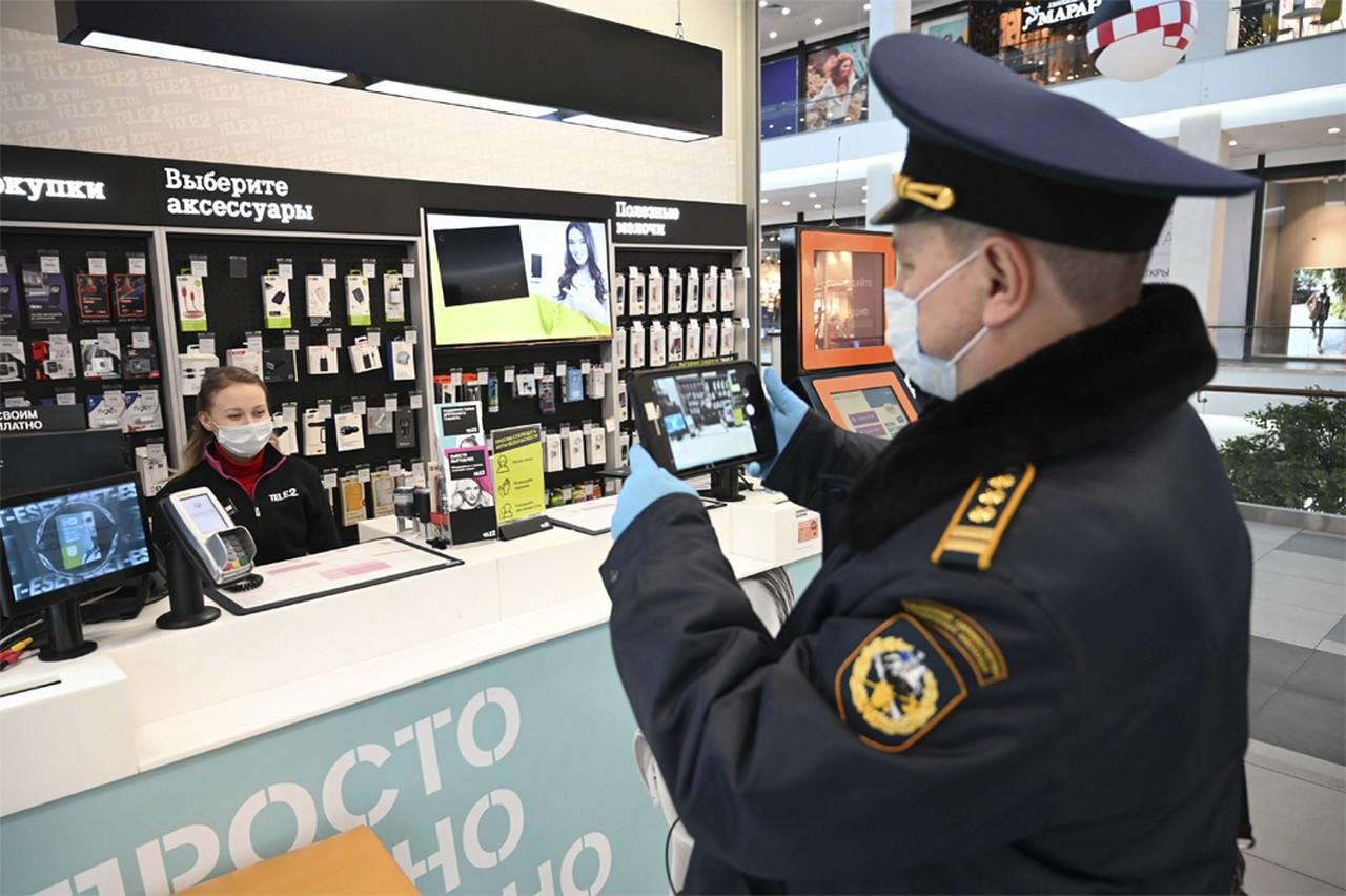 Восемь объектов оптово-розничной торговли проверили в Москве с целью пресечения правонарушений