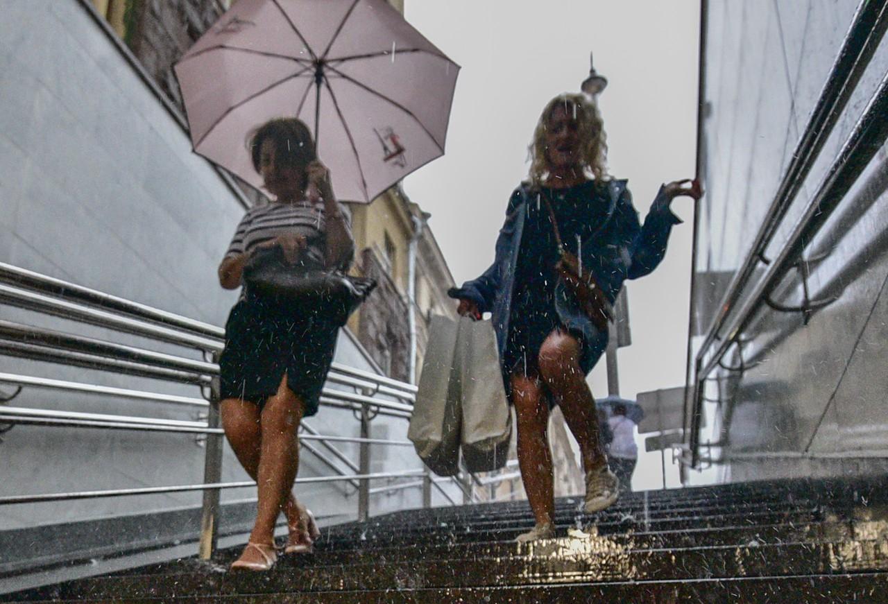 Москву накроет дождями и грозами в пятницу