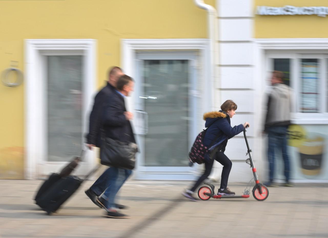 Жители Москвы совершили свыше 500 поездок на электросамокатах за месяц