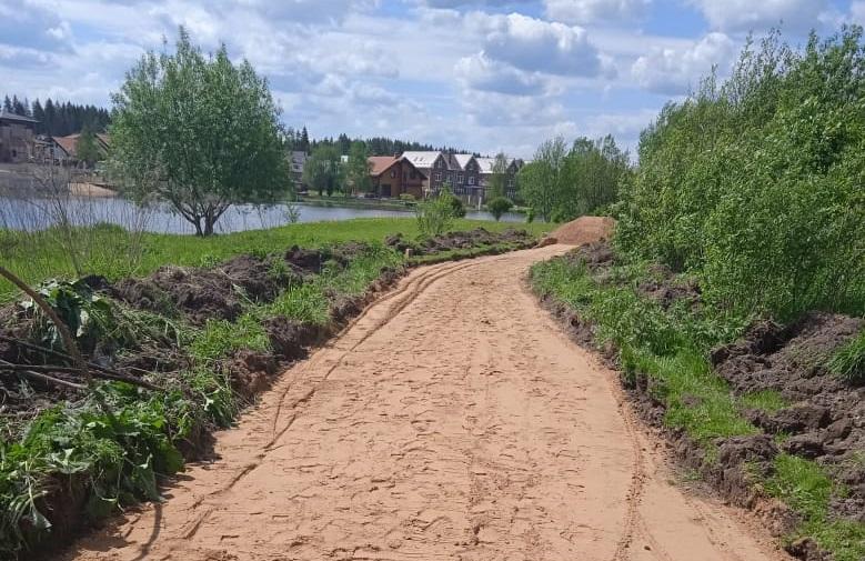 Новый этап благоустройства пешеходной зоны у реки Жилетовка стартовал в Краснопахорском