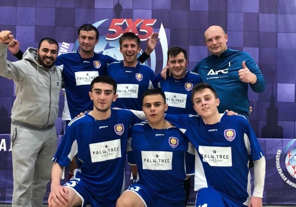 Футболисты из Внуковского стали победителями Премьер-лиги-2 чемпионата Москвы
