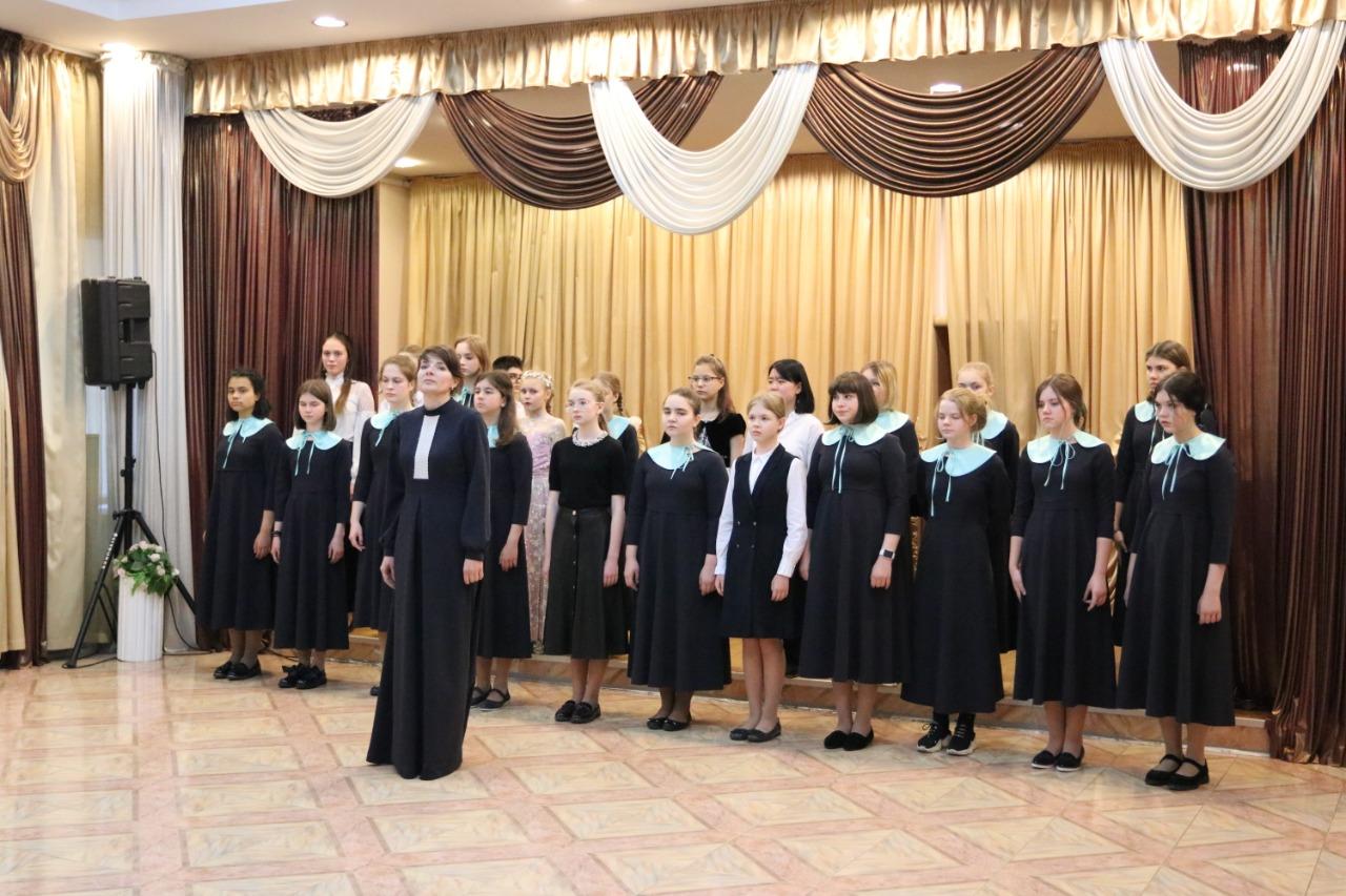 Концерт в честь Дня Победы провели в Воскресенской детской школе искусств