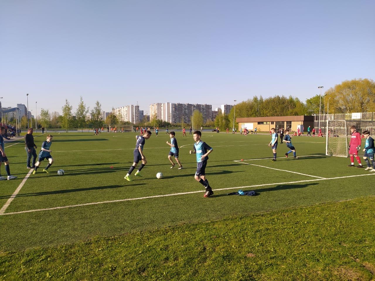 Юные футболисты из Воскресенского выиграли игру отборочного этапа Всероссийского турнира