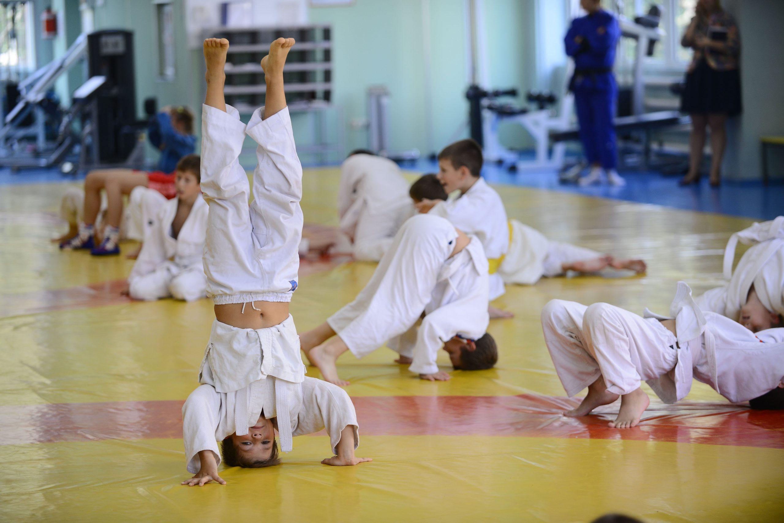 Мастер-класс посетили воспитанники спортивного клуба «Схватка» поселения Десеновское