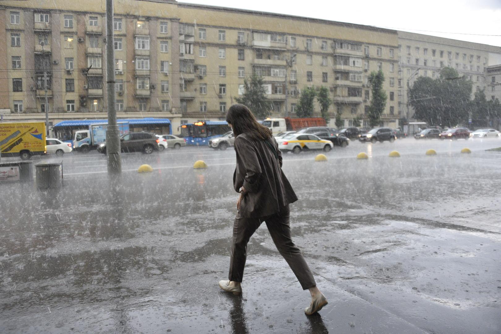 Апрель 2021 года стал занял третье место в топе самых дождливых месяцев за 70 лет