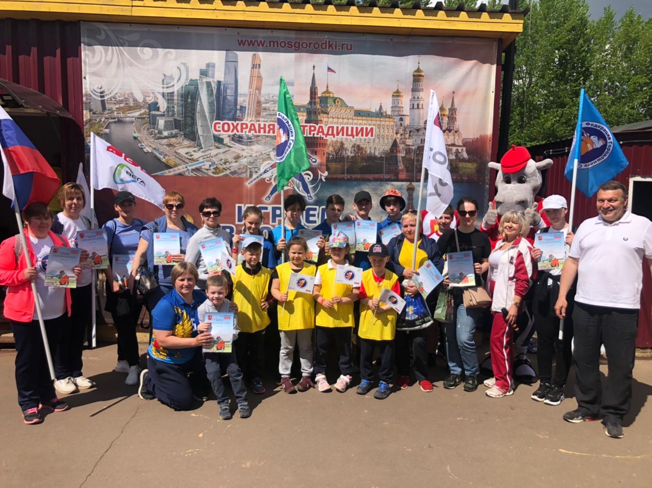 Жители поселения Михайлово-Ярцевское приняли участие в спортивном фестивале