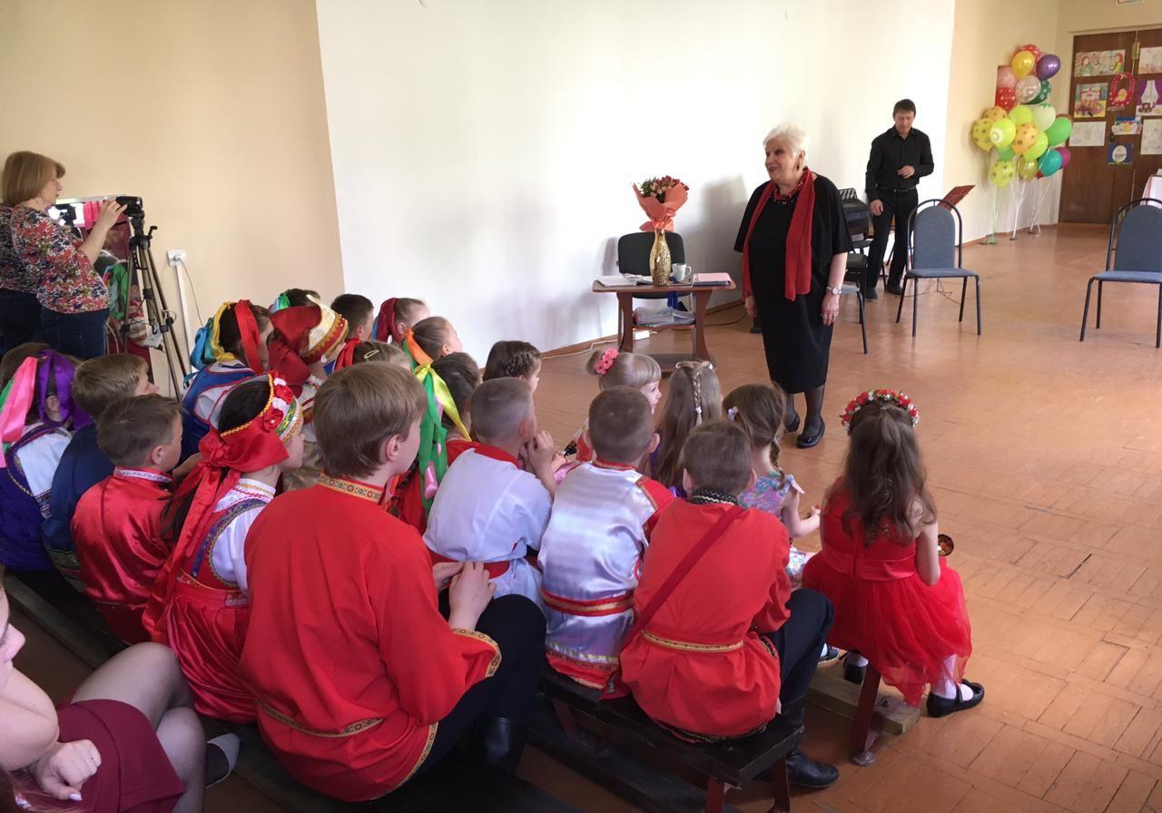 Отчетный концерт фольклорного отделения прошел в Новофедоровской детской музыкальной школе