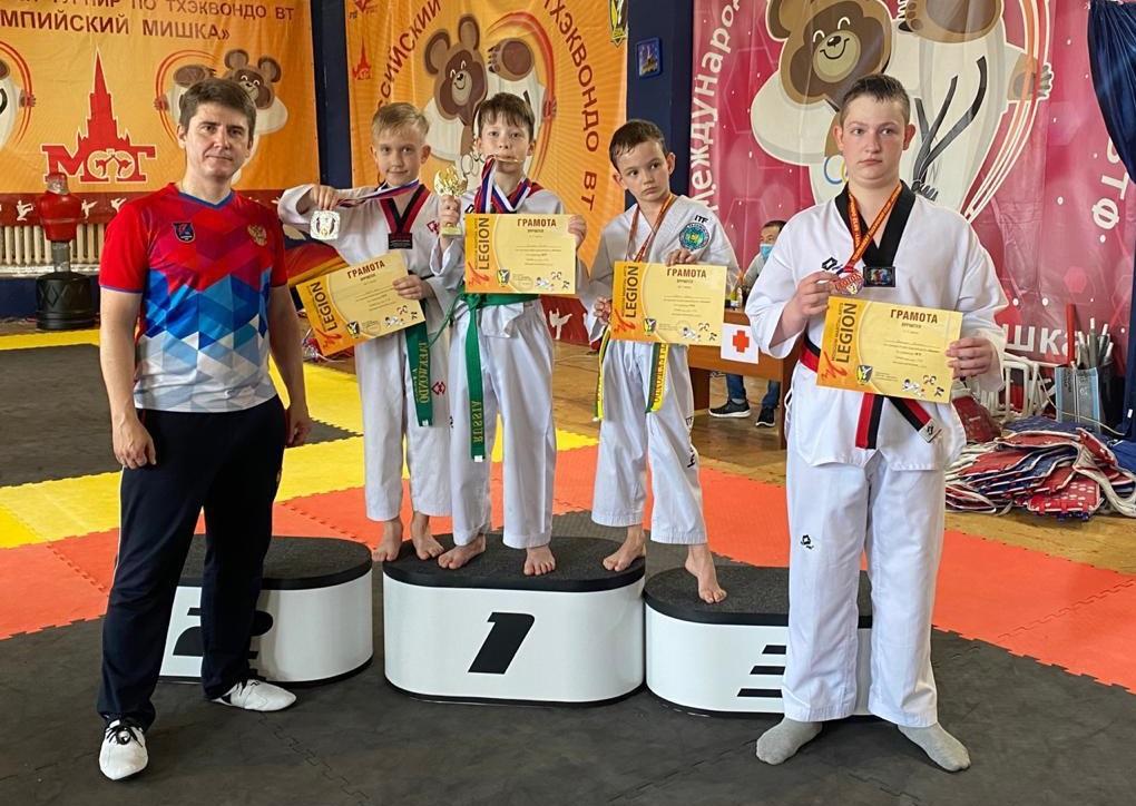 Рязановские школьники стали призерами открытого первенства по тхэквондо