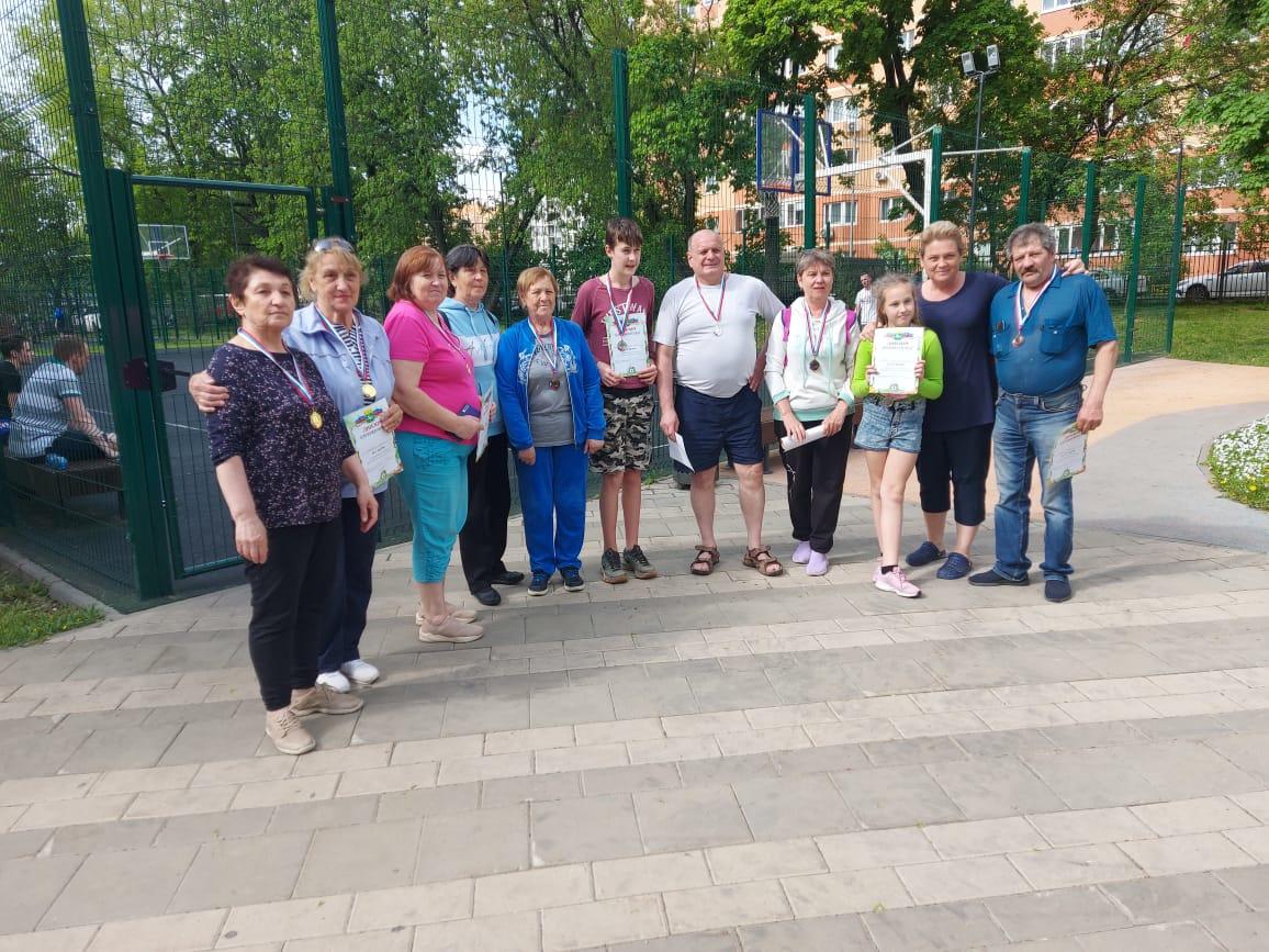 Сотрудники Центра спорта поселения Сосенское провели соревнования по петанку