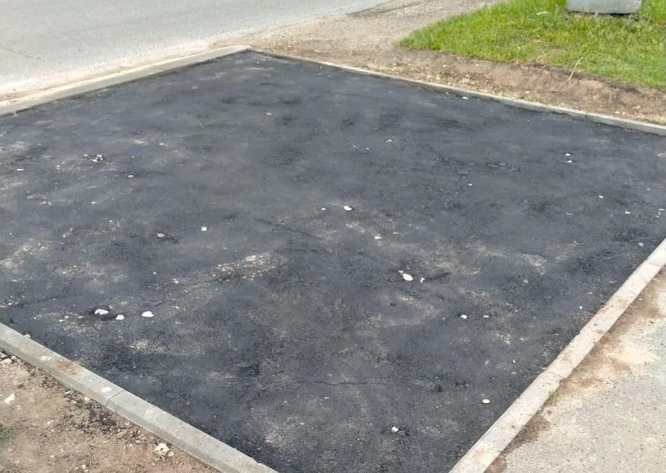 Обустройство подходов к пешеходным зонам завершилось в поселении Роговское